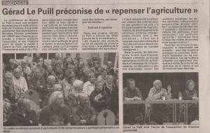 Conference à Thiéfosse avec Gérard LE PUILL