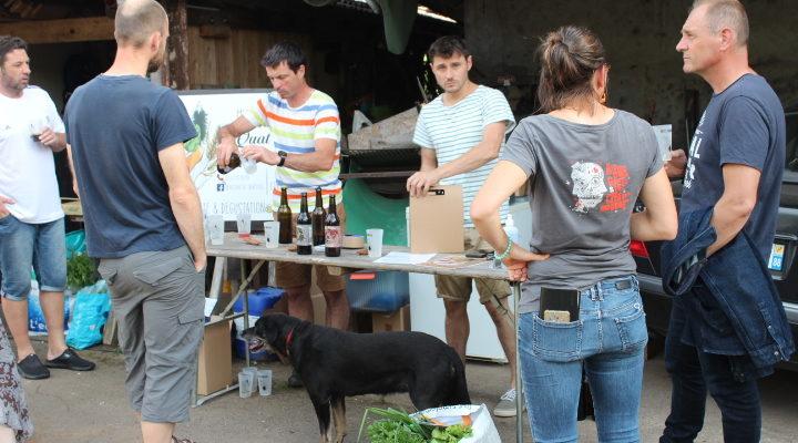 Dégustation de bières bio à l'Amap le vendredi 18 juin